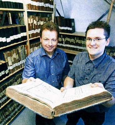 Bild von Jürgen Nafzger und Jürgen Bez.