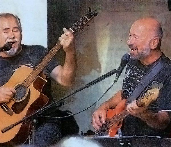 Walter Creuz und Helmut Freyhardt.
